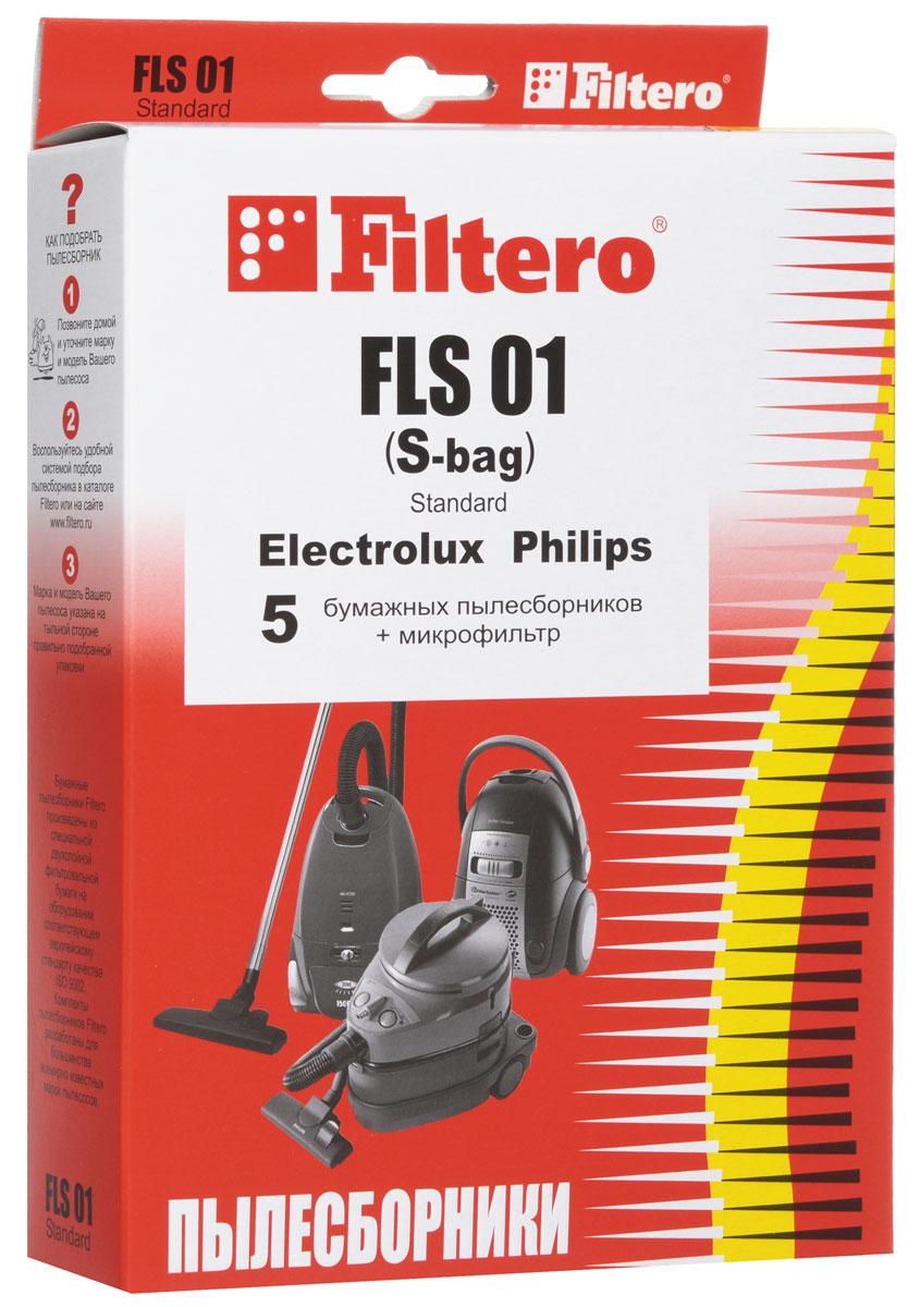 Filtero FLS 01 (S-bag) Standard пылесборник (5 шт)FLS 01 (S-bag) StandartОдноразовые бумажные мешки для пылесосов Filtero FLS 01 (S-bag) Standardсделаны из высококачественной многослойной фильтровальной бумаги, которая пропускает воздух, но задерживает даже самые маленькие частицы пыли.Бумажные мешки для пылесосов защищают двигатель от основного потока пыли, а, следовательно, и от перегрева вследствие засорения и преждевременного износа. Они предназначены для одноразового использования и прекрасно подходят для уборки в больших помещениях.Пылесборники подходят для следующих моделей пылесосов:ELECTROLUXZ 1900 - Z 2095 Clarioнапример:Z 2042 ClarioZ 3310 - Z 3395 Ultra Silencerнапример:Z 3353 Ultra SilencerZ 4500 - Z 4595 BolidoZ 5000 - Z 5295 ExcellioZ 5000 - Z 5695 SmartvacZ 5500 - Z 5695 OxygenZ 5900 - Z 5995 OxygenZ 6200, Z 6201 Mondo PlusZ 7330 - Z 7350 OxygenZ 7530 - Z 7595 ClarioZAM 6100 - ZAM 6109 Air MaxZE 310 – 390 ErgospaceZE 2200 - ZE 2295 ErgospaceZO 6300 - ZO 6399 Oxy3systemZP 3510 – ZP 3525 Clario 2ZUS 3000 – ZUS 3388 Ultra SilencerZUS 3900 – ZUS 3999 Ultra SilencerZV 1020 - ZV 1040 Viva ControlZVQ 2100 - ZVQ 2109 Viva Quick StopZXM 7010 – ZXM 7030 MAXimusPHILIPSFC 8380 - FC 8389 Impact Plusнапример: FC 8384 FC 8390 - FC 8396 Impact ExcelFC 8400 - FC 8430 City LineCity Line: Barcelona, Chicago, Miami, New York, Milano, Paris, Rio, Roma, Sydney, TokyoFC 8600 - 8609 ExpressionFC 8900 – FC 8920 Home HeroFC 9150 - FC 9164 PerformerFC 9000 - FC 9050 UniverseFC 9100 - FC 9139 SpecialistSpecialist: Carpet, Control, Animal Care, Hard Floor, HygieneFC 9300 – FC 9309 Silent StarHR 8300 - 8349 ExpressionHR 8350 - HR 8399 ImpactHR 8368 - HR 8399 City LineHR 8500 - HR 8599 MobiloAEGP1 - P 999 Sistem ProAVC 1131 - AVC 1170 Viva ControlAVQ 2112, AVQ 2113 Quick StopBORKVC 9016, VC 9118 Si, VC 9818 Bl, VC 9919 BkZANUSSIZAN 3600, ZAN 3610, ZAN 3625ZAN 4610, ZAN 4620, ZAN 4640