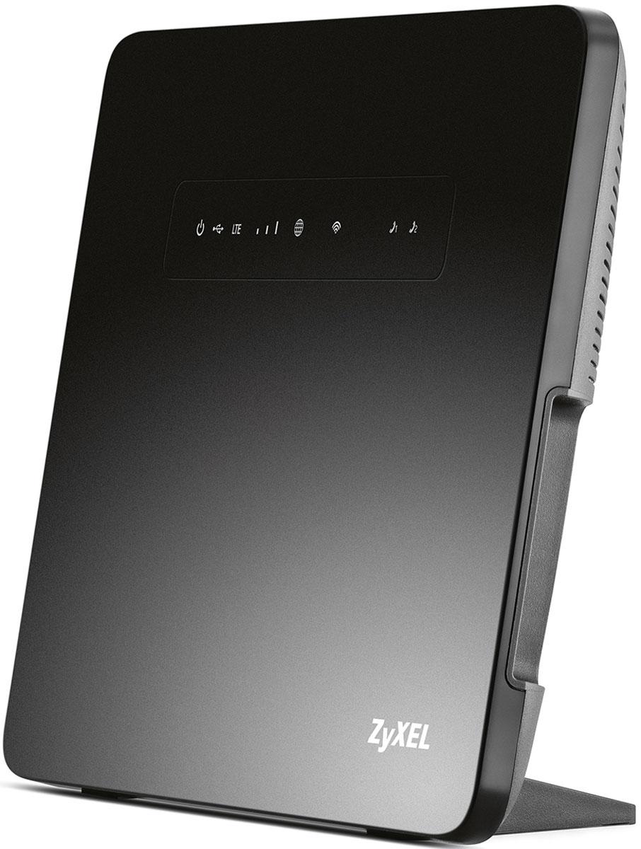 Zyxel Keenetic LTE беспроводной маршрутизаторKEENETIC LTEИнтернет-центр Zyxel Keenetic LTE — это постоянный доступ в Интернет и цифровая телефонная связь для вашего загородного дома, квартиры или малого офиса. Он может быть подключен к Интернету через сотовую сеть 4G LTE, по выделенной линии Ethernet, через модемы ADSL/PON с портом Ethernet и даже через USB-модемы 3G/4G. Если для вас важен бесперебойный доступ в Интернет, вы можете подключить интернет-центр одновременно к двум провайдерам. При сбое в сети основного провайдера интернет-центр быстро переключится на работу с резервным. С интернет центром Zyxel Keenetic LTE вы сможете одновременно выходить в Интернет с нескольких смартфонов, планшетов и ноутбуков по Wi-Fi, играть в онлайн-игры, участвовать в файлообменных сетях, использовать телевизоры с функцией Smart TV. Для устройств, которым вы хотите разрешить пользоваться вашим интернет подключением, но не хотите предоставлять доступ к домашним устройствам, можно включить гостевую беспроводную сеть. К двум телефонным портам интернет-центра можно подключить обычный телефон и факс и звонить на телефонные номера в любые города мира. Операторы цифровой телефонии предлагают тарифные планы, позволяющие сократить расходы на междугородные и международные звонки, получить телефонный номер в вашем городе и доступ ко множеству дополнительных услуг. Zyxel Keenetic LTE оборудован многофункциональным хостом USB, благодаря которому можно открыть сетевой доступ к USB-накопителю по FTP из Интернета или из домашней сети по DLNA, а также обеспечить общий доступ к USB принтеру. Приложение BitTorrent клиент позволит круглосуточно участвовать в файлообменных сетях, избавив от этой нагрузки компьютер. Благодаря встроенному мастеру быстрой настройки NetFriend любой пользователь независимо от уровня знаний в области компьютеров и сетей может настроить и запустить интернет-центр в работу за считанные минуты. Основные возможности LTE-модем и гигабитный Интернет в одном устройстве Оснащенный