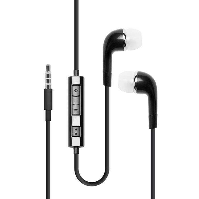 Deppa стереогарнитура с ПДУ для Samsung I9000, Black44128Deppa - миниатюрные наушники анатомической формы для вашего устройства Samsung I9000. Удобная посадка обеспечивает долгое, комфортное ношение. Качественные динамики передают чистый звук с выразительными низами и звонкими верхами.Длина кабеля: 1,2 мЧувствительность микрофона: 42 дБ