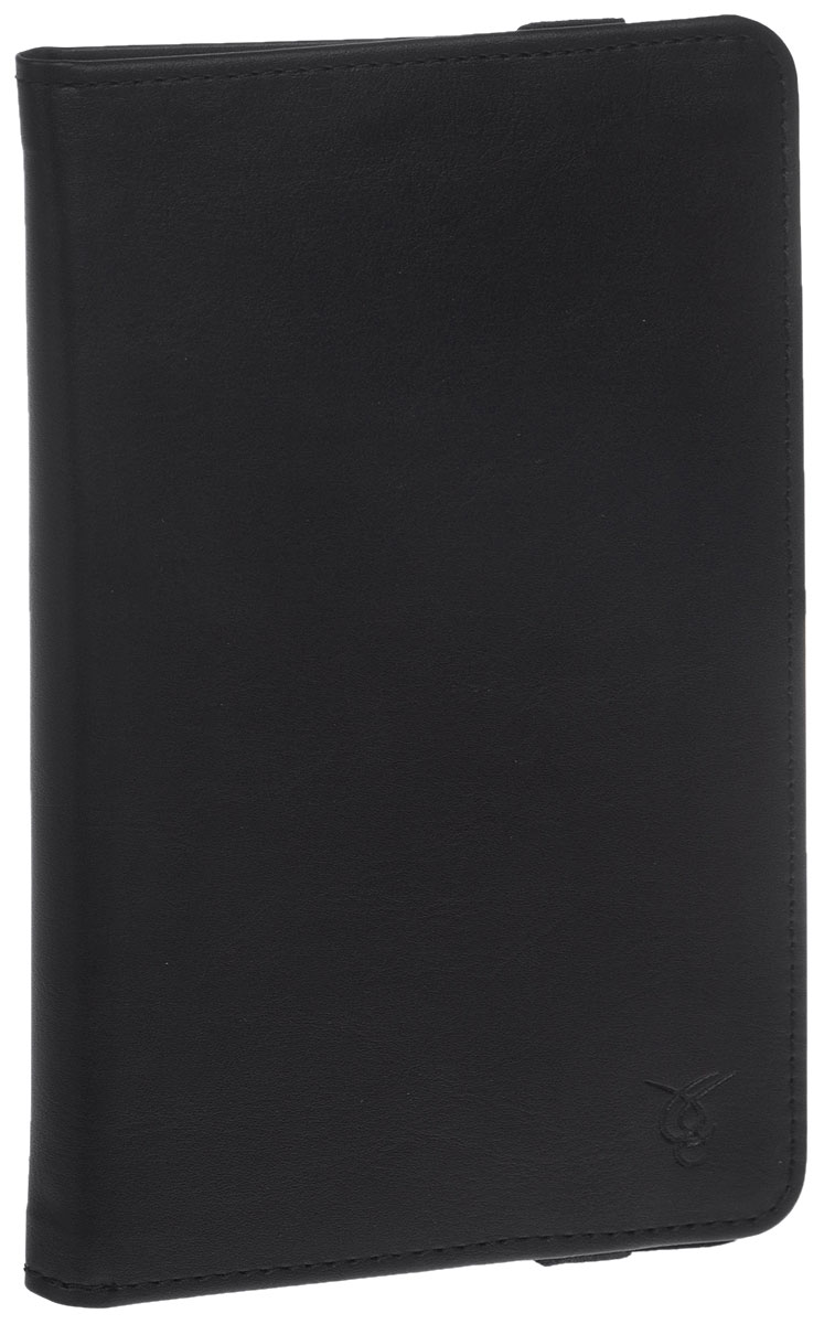 Vivacase Mini, Black универсальный чехол для планшетов 7VUC-CMN07-blЧехол Vivacase Mini для планшетов с диагональю 7 дюймов предназначен для защиты вашего устройства от механических повреждений и влаги. Крепление EVS позволяет надежно зафиксировать девайс.