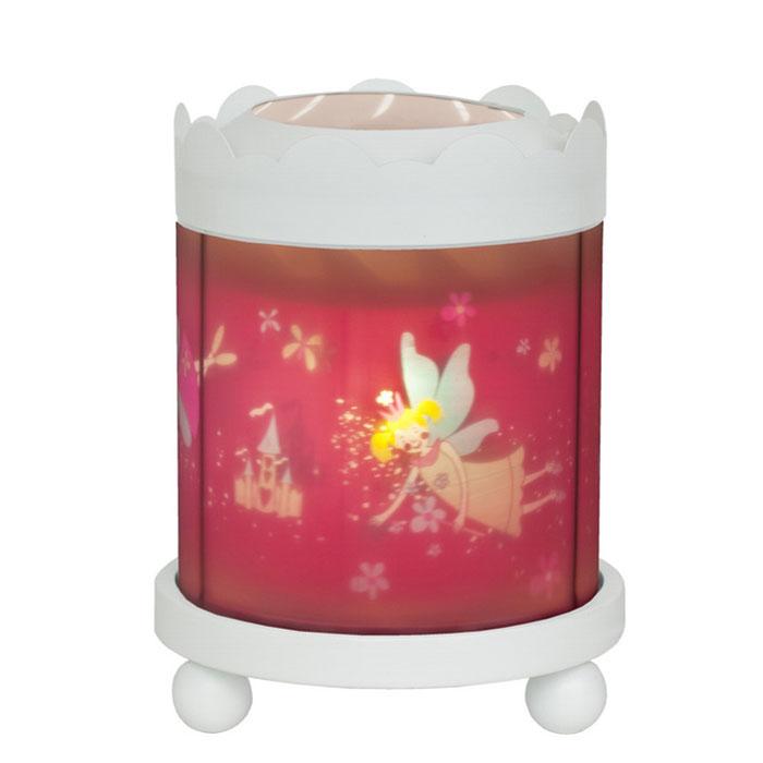 Trousselier Светильник-ночник с проектором Merry Go Round Magic Lantern Fairy Princess цвет белый