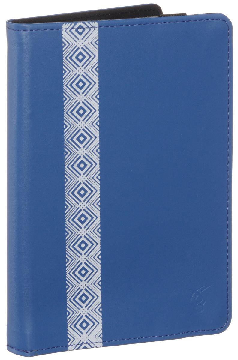Vivacase Romb чехол для PocketBook 614/622/623/624/626/640, Blue (VPB-P6R02-blue)VPB-P6R02-blue_newЧехол-обложка Vivacase Romb для PocketBook 614/622/623/624/626/640 изготовлен из качественной искусственной кожи. Он надежно защитит вашу электронную книгу от механических повреждений, грязи и пыли. Внутренняя сторона имеет подкладку, которая легко очищается и не оставляет царапин на дисплее. Внутри книга плотно и надежно фиксируется с помощью лямок. При этом все разъемы и кнопки остаются открытыми.