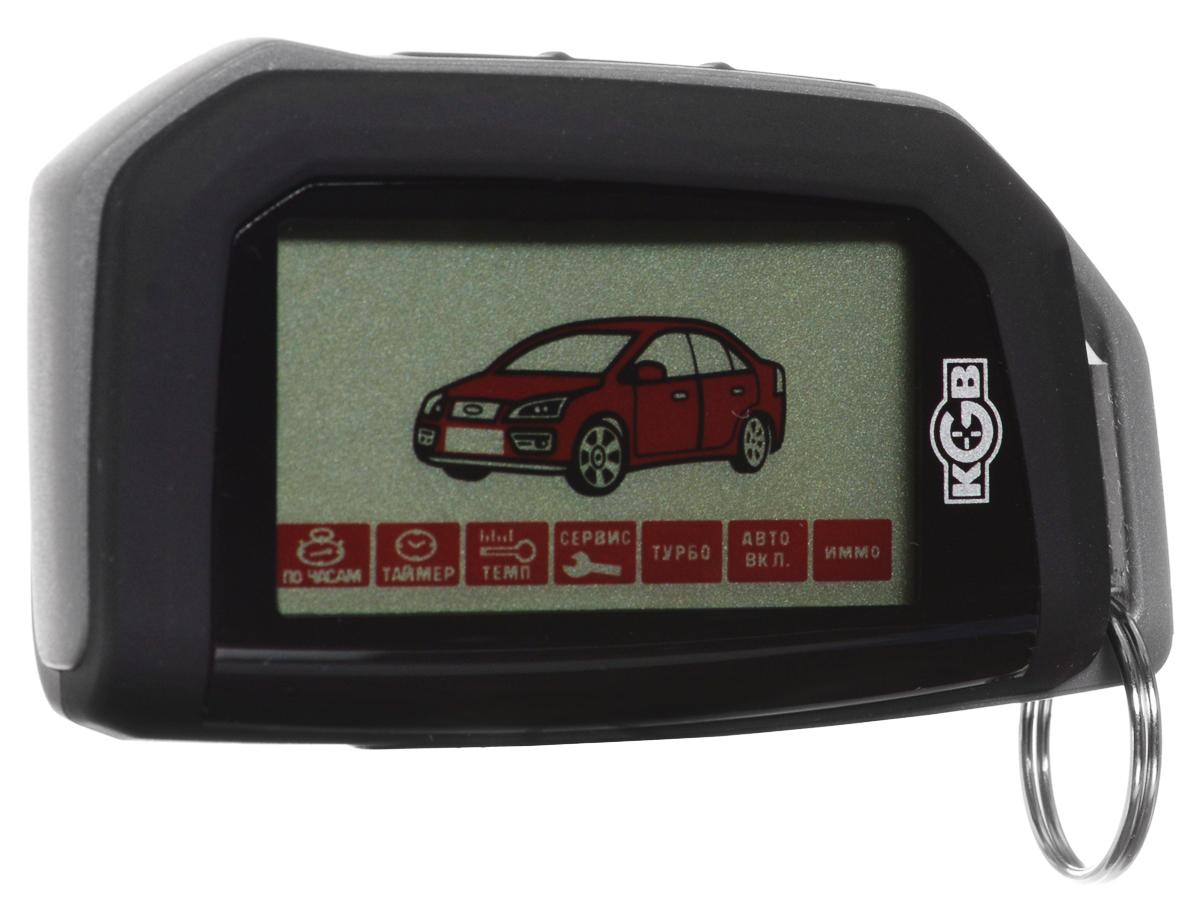 KGB G-5 охранная система для автомобиляKGB G-5Охранная система KGB G-5 использует новейший код типа сдвоенный диалог (Duplex Dialog), построенный на алгоритме шифрования AES с использованием индивидуальных для каждой системы 128-битных ключей.Установку сигнализации можно производить как традиционным способом с проводным подключением, так и с подключением к CAN-шине, что позволяет использовать некоторые элементы штатной охранной системы и не прокладывать лишнюю проводку. Коммуникация охранной системы с шиной реализована через оригинальный модуль CANCARD, выполненный в виде карты, корпус которой соответствуют корпусу обычной карты SD.В этой системе реализовано интеллектуальное управление Smart Start +, которое позволяет устанавливать ее на автомобили с бензиновым или дизельным двигателем (с необходимой задержкой запуска), с атмосферным или турбированным двигателем (система турботаймер), с автоматической или ручной коробкой передач.KGB G-5 может быть легко установлена на авто, оснащенные не привычным замком зажигания, а кнопкой запуска и системой Engine Start/Stop. К тому же систему можно гибко настроить под запросы конкретного пользователя, используя Flex-каналы, которые позволяют связать работу одних выходов с другими, выставляя для них различные задержки включения/выключения. В комплект также входит цифровое программируемое реле Saturn SCB-1230D, управляемое индивидуальным для каждой системы кодом. При его подключении автомобиль приобретает еще один дополнительный барьер на пути злоумышленника к запуску двигателя.Непревзойденная защита от помех (8192 канала)Число независимых зон охраны: 7Датчик удараРекордное быстродействие системы (время отклика 0,25 сек)Управление штатным брелоком автомобиля (Режим SLAVE)Контроль из любой точки мира ( Bilarm GPS/GSM )Оповещение о включении предпускового подогревателяФункция КомфортАвтоматическое запирание дверей при нажатии тормозаДистанционное измерение температуры в салоне автомобиляПостановка системы на охрану с двигателем рабо
