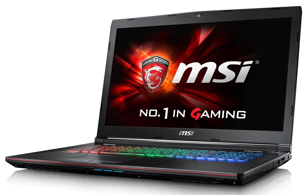 MSI GE72 6QF-067XRU Apache Pro, BlackGE72 6QF-067XRUMSI GE72 6QF Apache - это мощный ноутбук, который адаптирован для современных игровых приложений. Вмодели гармонично сочетаются агрессивный дизайн, отличная производительность и продуманнаяэргономика.Skylake - это кодовое имя новой 14-нм микроархитектуры процессоров Intel последнего, 6-го поколения. Посравнению с предыдущими поколениями платформа Skylake обладает сниженным энергопотреблением приповышенной производительности.Вы сможете достичь максимально возможной производительности вашего ноутбука благодаря поддержкеоперативной памяти DDR4-2133, отличающейся скоростью чтения более 2,9 Гбайт/с и скоростью записи 3,5Гбайт/с. Возросшая на 30% производительность стандарта DDR4-2133 (по сравнению с предыдущим поколением,DDR3-1600) поднимет ваши впечатления от современных и будущих игровых шедевров на совершенно новыйуровень.Продвинутая дискретная графика NVIDIA GeForce GTX 970M с GDDR5 3 ГБ:Серия NVIDIA Geforce GTX 970M приносит феноменальную графическую мощность нового поколения в миригровых ноутбуков. Набравшая более 9,000 баллов в бенчмарке 3DMark 11, GeForce GTX 970M обеспечиваетневероятно реалистичную картинку с максимальными настройками и разрешением на лёгком и портативномлаптопе.Система охлаждения с двумя вентиляторами Cooler Boost 3 создана специально для нового поколениясверхмощных CPU и GPU. Этой функцией можно управлять независимо с помощью кнопки запуска в левой частиклавиатуры. Чтобы запустить охлаждение, просто нажмите эту кнопку. Высокая эффективность охлажденияпозволяет экономить место и снизить уровень шума. Тепло, вырабатываемое ключевыми компонентами,отводится тихо и незаметно для пользователя.Свободно переключайтесь между режимами Sport, Comfort и Green за счёт совершенно новой функции SHIFT,которая, подобно коробке передач автомобиля, даёт вам контроль над состоянием ноутбука, расставляяприоритеты между производительностью (скорость), громкостью работы системы охлаждения (громкостьвыхлопа) и энерг