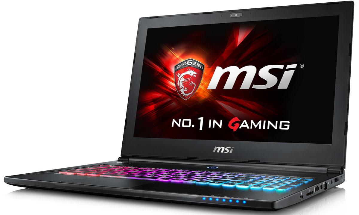 MSI GS60 6QD-245RU Ghost, BlackGS60 6QD-245RUБыстрый игровой ноутбук MSI GS60 6QD Ghost с новейшим процессором 6-го поколения Intel Core.Новейшие процессоры 6-го поколения Intel Core i5:Skylake - это кодовое имя новой 14-нм микроархитектуры процессоров Intel последнего, 6-го поколения. По сравнению с предыдущими поколениями платформа Skylake обладает сниженным энергопотреблением при повышенной производительности.SHIFT:Свободно переключайтесь между режимами Sport, Comfort и Green за счёт совершенно новой функции SHIFT, которая, подобно коробке передач автомобиля, даёт вам контроль над состоянием ноутбука, расставляя приоритеты между производительностью (скорость), громкостью работы системы охлаждения (громкость выхлопа) и энергопотреблением (расход); максимальная мощность, разумный баланс или тишина и более длительное время автономной работы, и выставляйте нужный режим с помощью SHIFT, используя комбинацию Fn + F7 или программу Dragon Gaming Center.Поддержка новейшей RAM-архитектуры DDR4-2133:Вы сможете достичь максимально возможной производительности вашего ноутбука благодаря поддержке оперативной памяти DDR4-2133, отличающейся скоростью чтения более 2,9 Гбайт/с и скоростью записи 3,5 Гбайт/с. Возросшая на 30% производительность стандарта DDR4-2133 (по сравнению с предыдущим поколением, DDR3-1600) поднимет ваши впечатления от современных и будущих игровых шедевров на совершенно новый уровень.Эксклюзивная технология Cooler Boost:Эксклюзивная технология MSI Cooler Boost обеспечивает мощное охлаждение за счёт увеличения обдува и поддержания температуры ноутбука и чипсетов на 5-10% ниже, чем у аналогов. Как бы жарко ни было в играх и на работе, технология Cooler Boost всегда гарантирует прохладу.NVIDIA Geforce GTX 965M:Серия NVIDIA Geforce GTX 965M приносит феноменальную графическую мощность нового поколения в мир игровых ноутбуков. GeForce GTX 965M обеспечивает невероятно быструю и гладкую игру с максимальными настройками и разрешением - на лёгком и портативном лаптопе