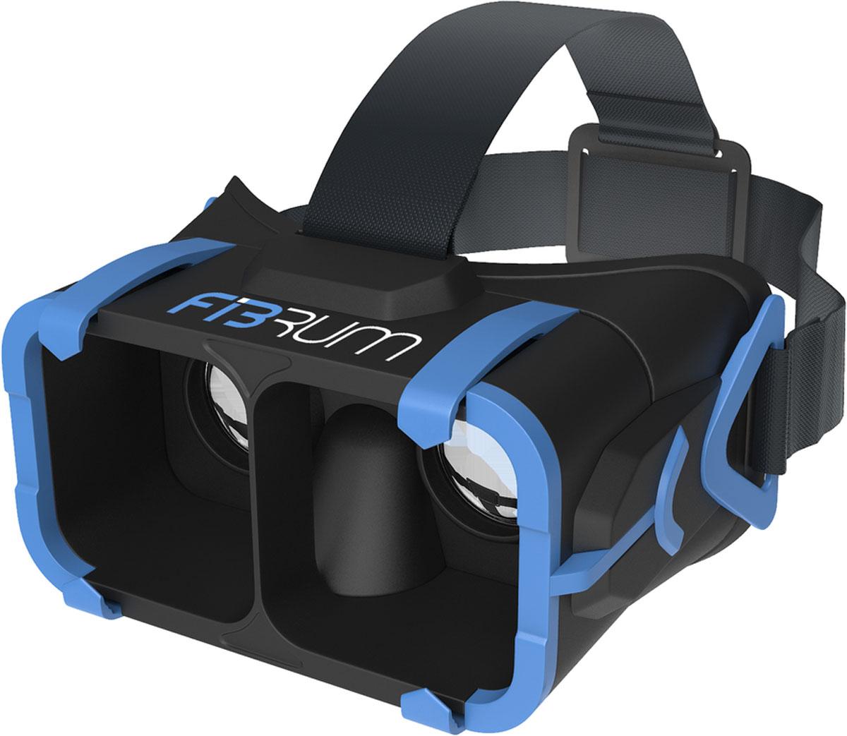 Fibrum Pro шлем виртуальной реальностиFIBRUM_PROFibrum Pro - шлем виртуальной реальности, позволяющий вам с максимальным комфортом погрузиться в другие миры и испытать новые эмоции. Fibrum - первая и единственная компания в мире, предлагающая комплексное решение в сфере VR: вместе со шлемом пользователи получают все доступные приложения и новинки Fibrum абсолютно бесплатно в течение года. Добро пожаловать в будущее!Год бесплатных развлечений:Каждый покупатель шлема получает бесплатный годовой доступ ко всем приложениям Fibrum. По истечении одного года вы получаете бессрочную скидку в 20% на все последующие покупки.Универсальный:Шлем совместим с большинством смартфонов с диагональю от 4 до 6 дюймов на любой из популярных операционных систем (iOS, Android, Windows Phone).ультралегкий:Современные материалы: высококачественный пластик и гиппоалергенный силикон, позволили сделать VR-шлем Fibrum самым легким среди аналогов. Высококачественные стеклянные линзы:Созданы для моментального и полного погружения в мир виртуальной реальности.Широкий угол обзора:Взгляни за пределы возможного с углом обзора 110°. Эргономический дизайн:Оптимальное расстояние между линзами не требует дополнительных приспособлений для настройки резкости. Система фиксирующих ремней разработана для наиболее комфортной эксплуатации без нагрузок на шею и позвоночник.