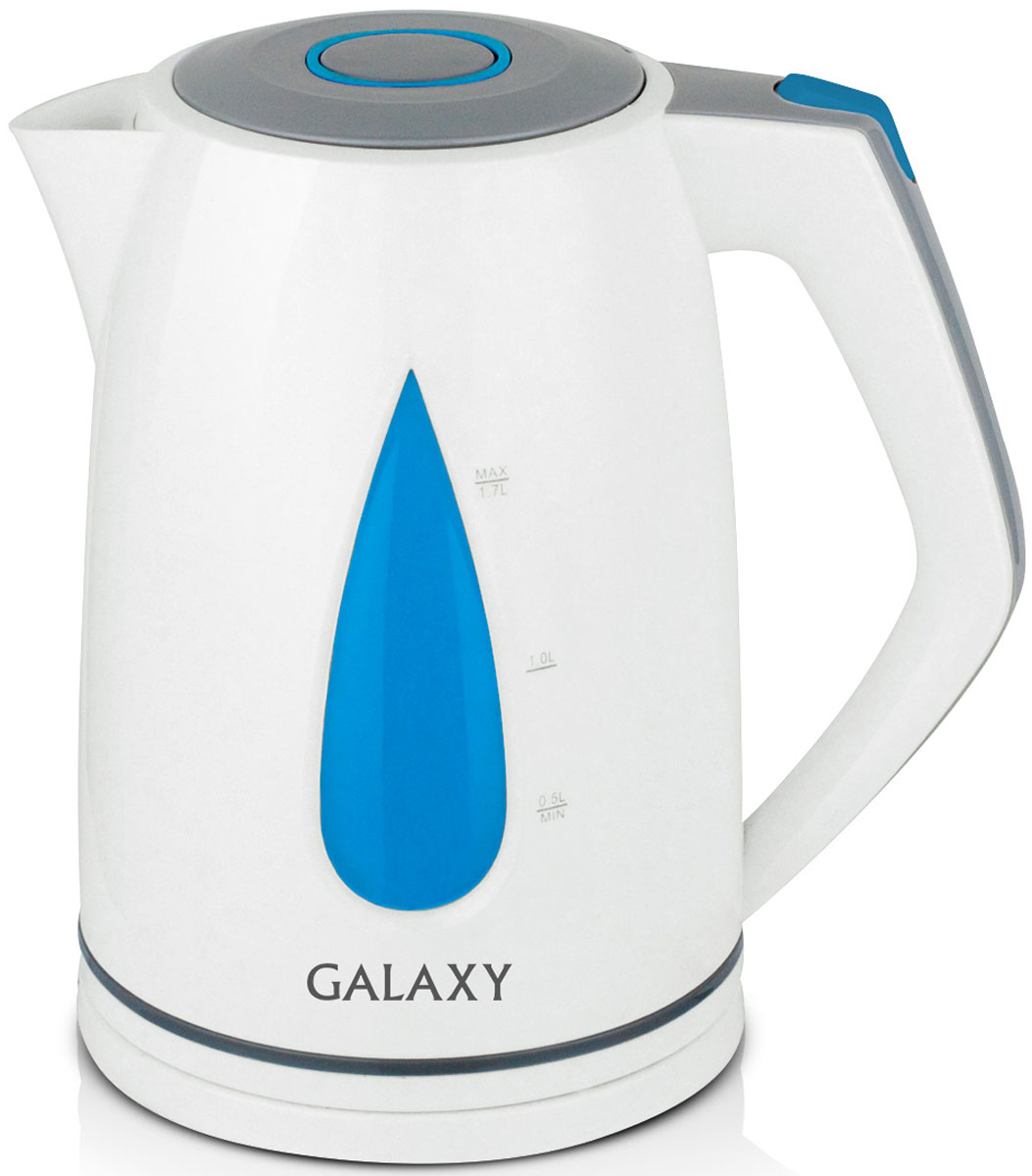 Galaxy GL 0201 чайник электрический4630003368881Электрический чайник Galaxy GL 0201 отвечает всем современным требованиям надежности и безопасности. При его производстве используются только высококачественные и экологически безопасные материалы, а также нагревательный элемент высокого класса надежности. Galaxy GL 0201 будет служить вам долгие годы, наполняя ваш быт комфортом!