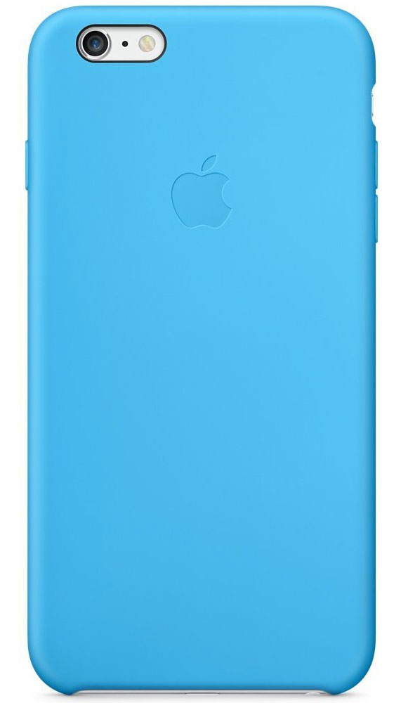 Apple Silicone Case чехол для iPhone 6 Plus, BlueMGRH2ZM/AApple Silicone Case плотно прилегает к кнопкам управления громкостью и режима сна и точно повторяет контуры iPhone 6 Plus/6s Plus, при этом не делая его громоздким. Мягкая подкладка из микроволокна защищает корпус iPhone. А внешняя поверхность силиконового чехла очень приятна на ощупь.