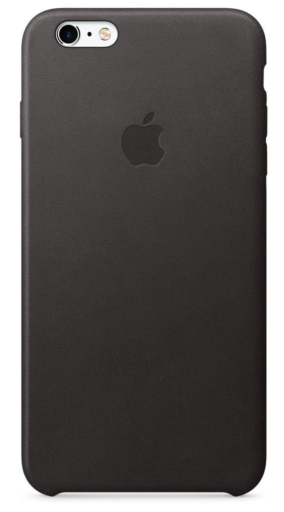 Apple Leather Case чехол для iPhone 6s Plus, BlackMKXF2ZM/AApple Leather Case — роскошный чехол, изготовленный из специально обработанной и выделанной кожи европейского производства и спроектированный теми же дизайнерами Apple, которые работали над iPhone. Каждый чехол идеально облегает телефон, поэтому ваш iPhone 6s Plus или iPhone 6 Plus по-прежнему будет выглядеть невероятно тонким. Мягкая внутренняя поверхность чехла, выполненная из микроволокна, защитит корпус вашего iPhone. А его внешняя панель порадует вас глубоким оттенком: специальная технология окраски позволяет цвету буквально проникать в структуру кожи.