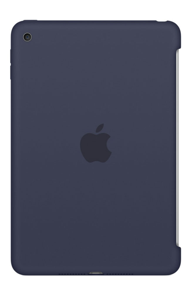Apple Silicone Case чехол для iPad mini 4, Midnight Blue - Чехлы