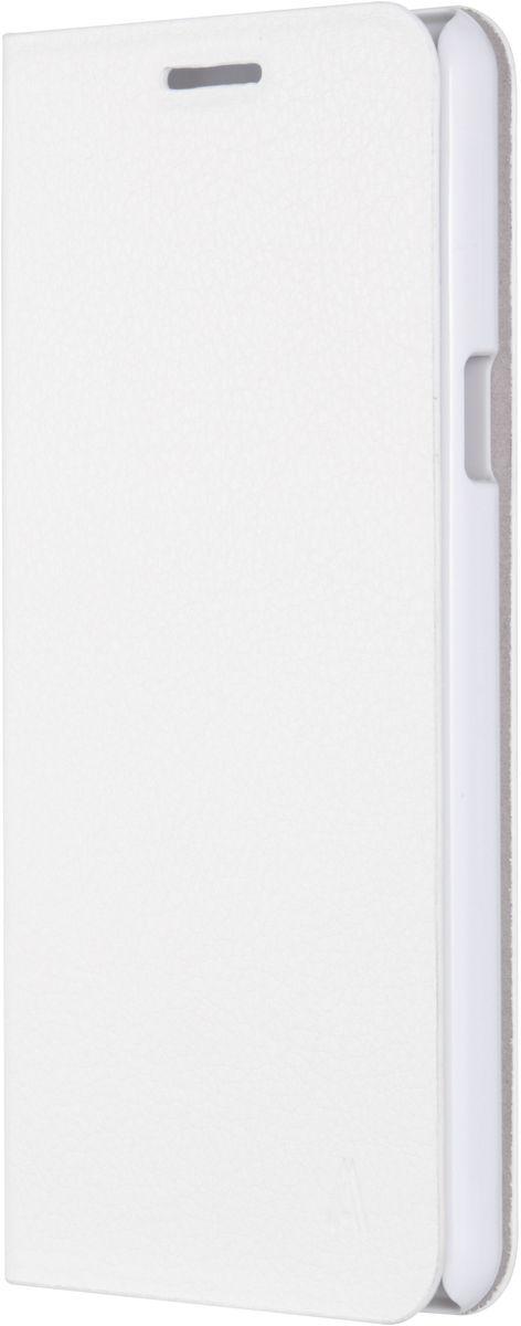 все цены на Anymode Flip Case чехол для Samsung Galaxy A3 2016, White онлайн
