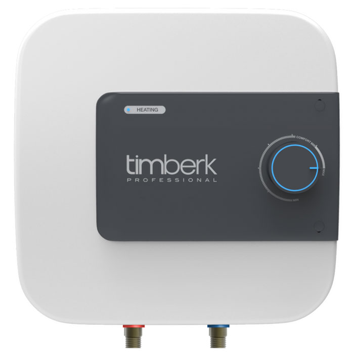 Timberk SWH SE1 15 VO накопительный водонагреватель, 15 лSWH SE1 15 VOНакопительный водонагреватель Timberk SWH SE1 15 VO имеет мндивидуальный дизайн, не имеющий аналогов на рынке. Расположение прибора - вертикальное, над или под мойкой. Hi-tech дизайн и эргономичность водонагревателя делают его идеальным дополнением интерьера кухонь и ванных комнат.Уникальная мощность нагревательного элемента для водонагревателей с таким небольшим объемом внутреннего бака - 2000 Вт. Ультра-быстрый нагрев воды, не имеющий аналогов! Световая индикация процесса нагрева воды и включения прибора в сеть находится на лицевой панели. Индикатор ярко-синего цвета встроен в ручку-регулятор.3L Safety protection system (3L SPS):Защита прибора от перегреваЗащита от сухого нагреваЗащита от избыточного давления внутри бака и протечкиСпециальный режим Comfort позволяет задать наиболее комфортную температуру нагрева воды (+58°С (±2°С)), а также соответствует наиболее эффективному режиму расхода электроэнергии и снижению уровня образования накипи. Внутренний бак покрыт двойным слоем стеклофарфоровой эмали. В состав эмали добавлено революционное соединение ионов серебра (Ag+) в сочетании с ионами меди (Cu++), такой слой эмали внутри бака обладает очищающими и антибактериальными свойствами.Медный нагревательный элемент Timberk SWH SE1 15 VO с увеличенной мощностью и специальным защитным покрытием обеспечит быстрый нагрев воды и долгую службу прибора, а увеличенный сменный магниевый анод переназначен для защиты от коррозии внутреннего резервуара.