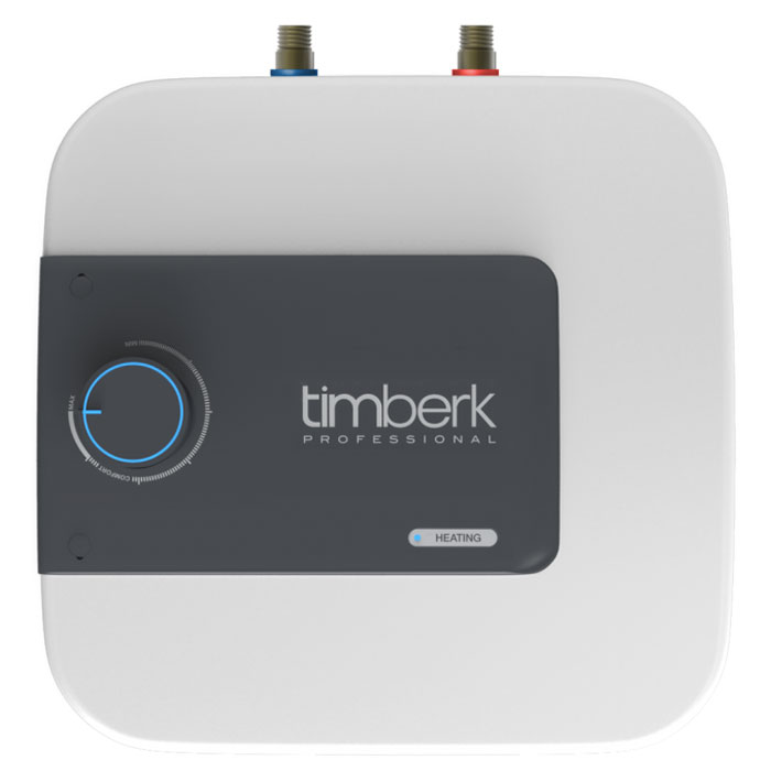 Timberk SWH SE1 15 VU накопительный водонагреватель, 15 лSWH SE1 15 VUНакопительный водонагреватель Timberk SWH SE1 15 VU имеет индивидуальный дизайн, не имеющий аналогов на рынке. Расположение прибора - вертикальное, над или под мойкой. Hi-tech дизайн и эргономичность водонагревателя делают его идеальным дополнением интерьера кухонь и ванных комнат.Уникальная мощность нагревательного элемента для водонагревателей с таким небольшим объемом внутреннего бака - 2000 Вт. Ультра-быстрый нагрев воды, не имеющий аналогов! Световая индикация процесса нагрева воды и включения прибора в сеть находится на лицевой панели. Индикатор ярко-синего цвета встроен в ручку-регулятор.3L Safety protection system (3L SPS):Защита прибора от перегреваЗащита от сухого нагреваЗащита от избыточного давления внутри бака и протечкиСпециальный режим Comfort позволяет задать наиболее комфортную температуру нагрева воды (+58°С (±2°С)), а также соответствует наиболее эффективному режиму расхода электроэнергии и снижению уровня образования накипи. Внутренний бак покрыт двойным слоем стеклофарфоровой эмали. В состав эмали добавлено революционное соединение ионов серебра (Ag+) в сочетании с ионами меди (Cu++), такой слой эмали внутри бака обладает очищающими и антибактериальными свойствами.Медный нагревательный элемент Timberk SWH SE1 15 VU с увеличенной мощностью и специальным защитным покрытием обеспечит быстрый нагрев воды и долгую службу прибора, а увеличенный сменный магниевый анод переназначен для защиты от коррозии внутреннего резервуара.