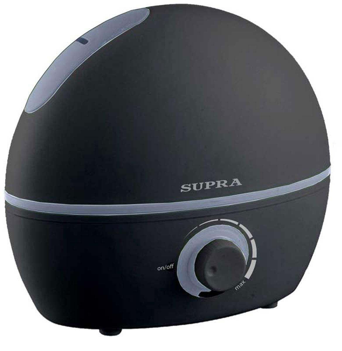 Supra HDS-102, Black увлажнитель воздухаHDS-102 blackУвлажнитель воздуха Supra HDS-102 - незаменимый домашний прибор, который не только создает здоровый микроклимат в доме, офисе и любом другом помещении, но и сохраняет комнатные растения, деревянную мебель в идеальном состоянии. Данная модель очень компактна, ее можно переносить с комнаты в комнату без особого труда. Прибор оснащен индикатором отсутствия воды.