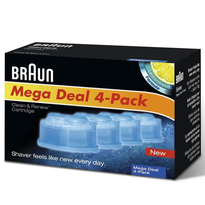 Braun CCR4 картридж с чистящей жидкостью  недорого