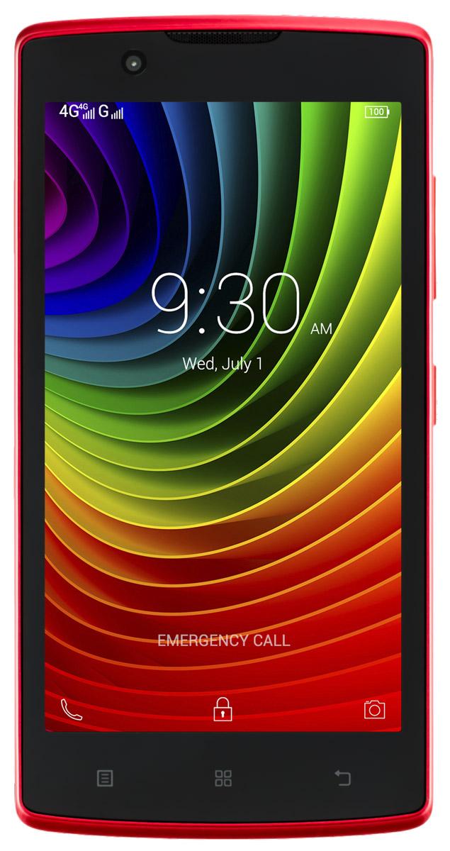 Lenovo A2010, RedPA1J0142RULenovo A2010 - быстрый и отзывчивый в работе смартфон по доступной цене с поддержкой скоростных сетей передачи данных 4G и наличием двух сим-карт.Операционная система Android 5.0 получила множество новых функций и усовершенствований, а также кардинально переработанный интерфейс. Она работает быстрее и эффективнее и расходует меньше энергии, чем предыдущие версии. Кроме того, она совместима с вашими любимыми приложениями Google.По сочетанию плавности, отзывчивости интерфейса, производительности и доступности у A2010 нет конкурентов. Четырехъядерный 64-разрядный процессор MediaTek 1,0 ГГц обладает достаточной вычислительной мощностью для качественного, без малейших задержек, воспроизведения музыки и видео, запуска приложений, игр и многого другого.4,5-дюймовый дисплей смартфона Lenovo A2010 отличается высоким качеством изображения в играх, при обмене сообщениями, просмотре видео и веб-серфинге. Благодаря компактному размеру смартфоном удобно управлять одной рукой.Смартфон позволяет не только использовать внутренний накопитель объемом 8 ГБ, но и установить карту МicroSD на 32 ГБ. Теперь вам точно хватит места для хранения всех фотографий, музыкальных композиций и видеозаписей.5-мегапиксельная задняя камера позволяет с легкостью делать четкие, качественные фотографии и видеозаписи, а с помощью 2-мегапиксельной фронтальной камеры удобно общаться с друзьями.Один смартфон, два телефонных номера. Хотите сэкономить на тарифах за мобильную связь, использовать телефон за границей без роуминга или просто завести отдельный рабочий номер? Тогда выбирайте смартфон A2010 с двумя SIM-картами!Благодаря батарее емкостью 2000 мАч смартфон A2010 способен работать до 8,5 часов в режиме разговора и до 11,5 дней в режиме ожидания в сетях 4G, поэтому вы сможете им дольше пользоваться и реже заряжать. Если вы страстный фотограф, любите смотреть видео, слушать музыку или просто отправлять сообщения и общаться, этот смартфон идеально подойдет вам.Телефон сертифициров