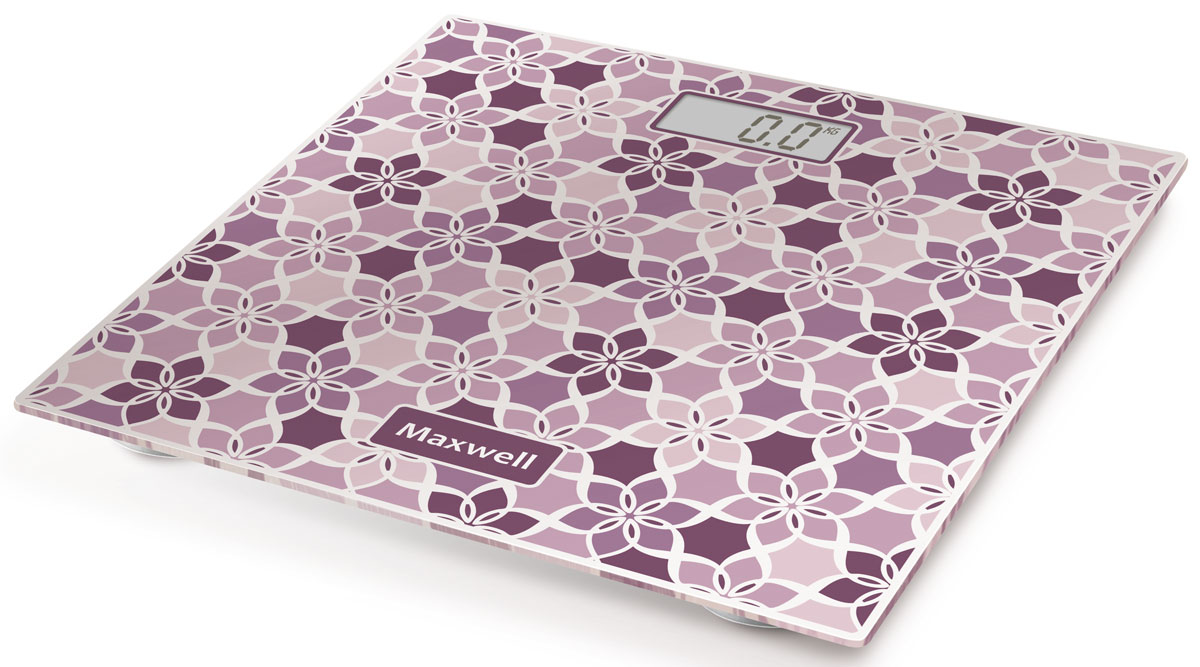 Maxwell MW-2673(VT) напольные весыMW-2673(VT)Maxwell MW-2673(VT) - напольные весы, выполненные в стильном дизайне. Одновременно с этим вас удивит и функциональность данного устройства: теперь вы легко сможете контролировать свой вес, а значит, вести здоровый образ жизни. Для вашего удобства в весах предусмотрена возможность с высокой точностью определять массу тела в килограммах, фунтах и стоунах.Платформа данной модели выполнена из высокопрочного закаленного стекла, что позволит использовать весы годами и не переживать за их сохранность. Максимально допустимый вес - 150 кг. Все данные отобразятся на удобном жидкокристаллическом дисплее. Для того, чтобы сохранить заряд батареи в весах используется функция автоматического отключения.