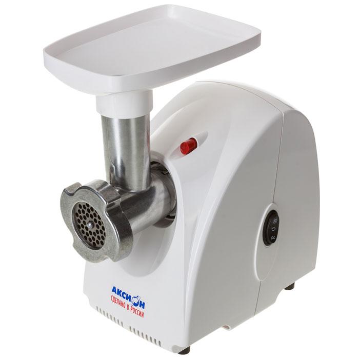 Аксион М 31.01, White мясорубкаАксион М 31.01Электрическая мясорубка Аксион М 31.01 имеет функцию реверс, позволяющую кратковременно поворачивать шнек в обратном направлении. В качестве емкости, в которую будет поступать фарш, можно использовать посуду, максимальная высота которой не превышает 11 см. Эргономичная конструкция агрегата предполагает наличие специального отсека для хранения решеток.