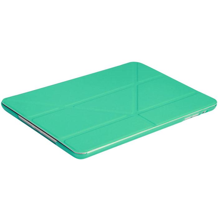 IT Baggage Hard Case чехол для iPad Air 2 9.7, TurquoiseITIPAD25-6Чехол IT Baggage Hard Case для iPad Air 2 9.7 - это стильный и лаконичный аксессуар, позволяющий сохранить планшет в идеальном состоянии. Надежно удерживая технику, обложка защищает корпус и дисплей от появления царапин, налипания пыли. Также чехол можно использовать как подставку для чтения или просмотра фильмов. Имеет прозрачную заднюю крышку и свободный доступ ко всем разъемам устройства.