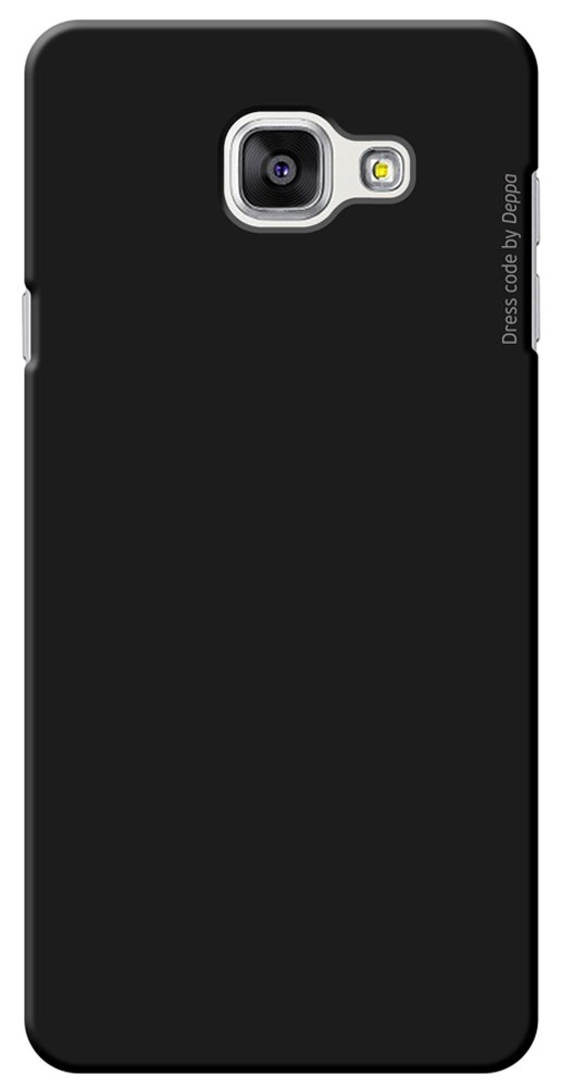 Deppa Air Case чехол для Samsung Galaxy A7(2016), Black83233Чехол Deppa Air Case для Samsung Galaxy A7(2016) предназначен для защиты корпуса смартфона от механических повреждений и царапин в процессе эксплуатации. Имеется свободный доступ ко всем разъемам и кнопкам устройства. Чехол изготовлен из поликарбоната Teijin производства Японии с покрытием Soft touch.