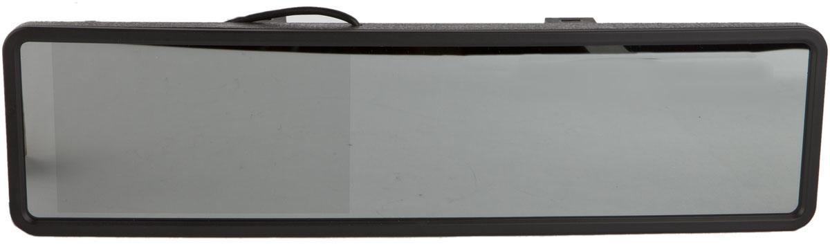 AutoExpert DV 525, Black автомобильный монитор2170816985254Универсальный цветной монитор AutoExpert DV 525 в панорамном зеркале. Предназначен для подключения камеры заднего/переднего обзора или другого источника видеосигнала. Панорамное зеркало обеспечивает максимально широкий обзор назад во время движения. Универсальное крепление позволяет закрепить зеркало с монитором на любое штатное зеркало. Монитор расположен прямо перед глазами водителя. Ничего лишнего в салоне авто - ничто не привлекает воров.Размер зеркала: 30,5 см х 8 смТип экрана: TFT LCD2 видеовхода с автоматическим включением монитора при появлении видеосигналаПоддержка PAL-AUTO/NTSCЯркость: 250 кд/м2Контраст: 300:1