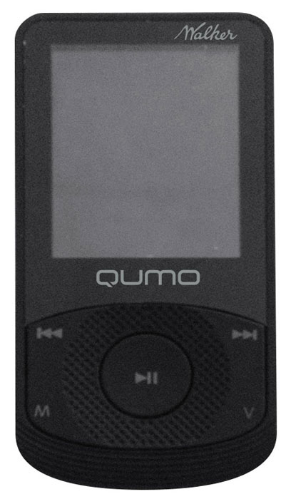 Qumo Walker 4Gb, Black MP3-плеер