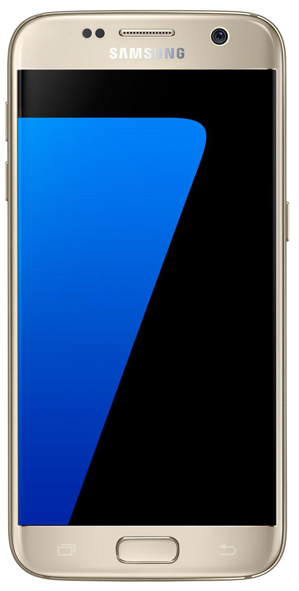 Samsung SM-G930F Galaxy S7 (32GB), GoldSM-G930FZDUSERSamsung Galaxy S7 - это уже не просто телефон + КПК, это настоящий чудо-проводник в мире современных цифровых технологий, который умещается у вас в кармане. Данная модель - незаменимый помощник буквально на каждый день: начиная от банальных выходов в интернет и навигации, и заканчивая функциями персонального тренера и даже медицинского консультанта!Samsung Galaxy S7 с экраном 5,1 дюйма Quad HD Super AMOLED обладает защищенным 3D-стеклом Corning Gorilla Glass 4, создающим эффект погружения в контент, стильным дизайном и прочной конструкцией с эргономичными изгибами для удобного захвата. Новая функция Always-On Display (Всегда активный экран) предоставляет пользователям уникальную возможность упрощенного, бесконтактного использования устройства в любой ситуации. Теперь можно проверить время и календарь, не прикасаясь к экрану.Наряду с изысканным дизайном, Galaxy S7 имеет повышенную функциональность благодаря защите от пыли и воды по стандарту IP68, при чем без каких-либо дополнительных заглушек или приспособлений.Смартфон Samsung Galaxy S7 оснащен камерой, которая позволяет делать снимки практически в полной темноте. Благодаря технологии двойного пикселя (Dual pixel), более яркой цветопередаче, широкой диафрагме объектива (F1.7) и увеличенному размеру пикселей, камера имеет точную и быструю автофокусировку даже в условиях низкой освещенности. Новый режим съемки Motion Panorama («Панорама движения») оживляет традиционные панорамные фотографии, полностью погружая пользователя в происходящее на экране. Стоит отметить, что в отличие от своих предшественников у смартфона Galaxy S7 камера практически не выступает.Команда разработчиков Samsung произвела заметные усовершенствования программного и аппаратного обеспечения Galaxy S7 для улучшения игрового интерфейса. Мощный 8-ядерный процессор и емкий аккумулятор гарантируют более продолжительное время автономной работы, а внутренняя система охлаждения предохраняет устройства 