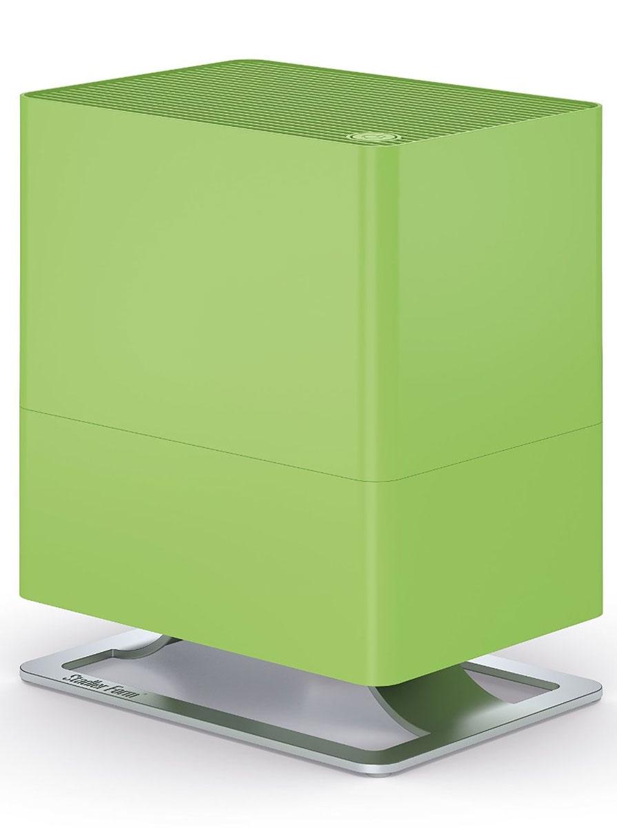 Stadler Form Oskar Little, Lime увлажнитель воздуха0802322005639Увлажнитель воздуха Stadler Form Oskar Little очень бережлив, но при этом силен. У него два уровня мощности, и он специализируется на небольших комнатах до 30 м2 . Его эко-фильтр сделан из текстильных и растительных волокон, что является еще одним признаком его экономной натуры. Благодаря приглушаемой подсветке, очень тихой работе и мягкому распределению аромамасел, за здоровый климат в спальне определенно будет отвечать Oskar little. Как и другие модели, он выключается автоматически при пустом баке, который очень легко снова наполнить.