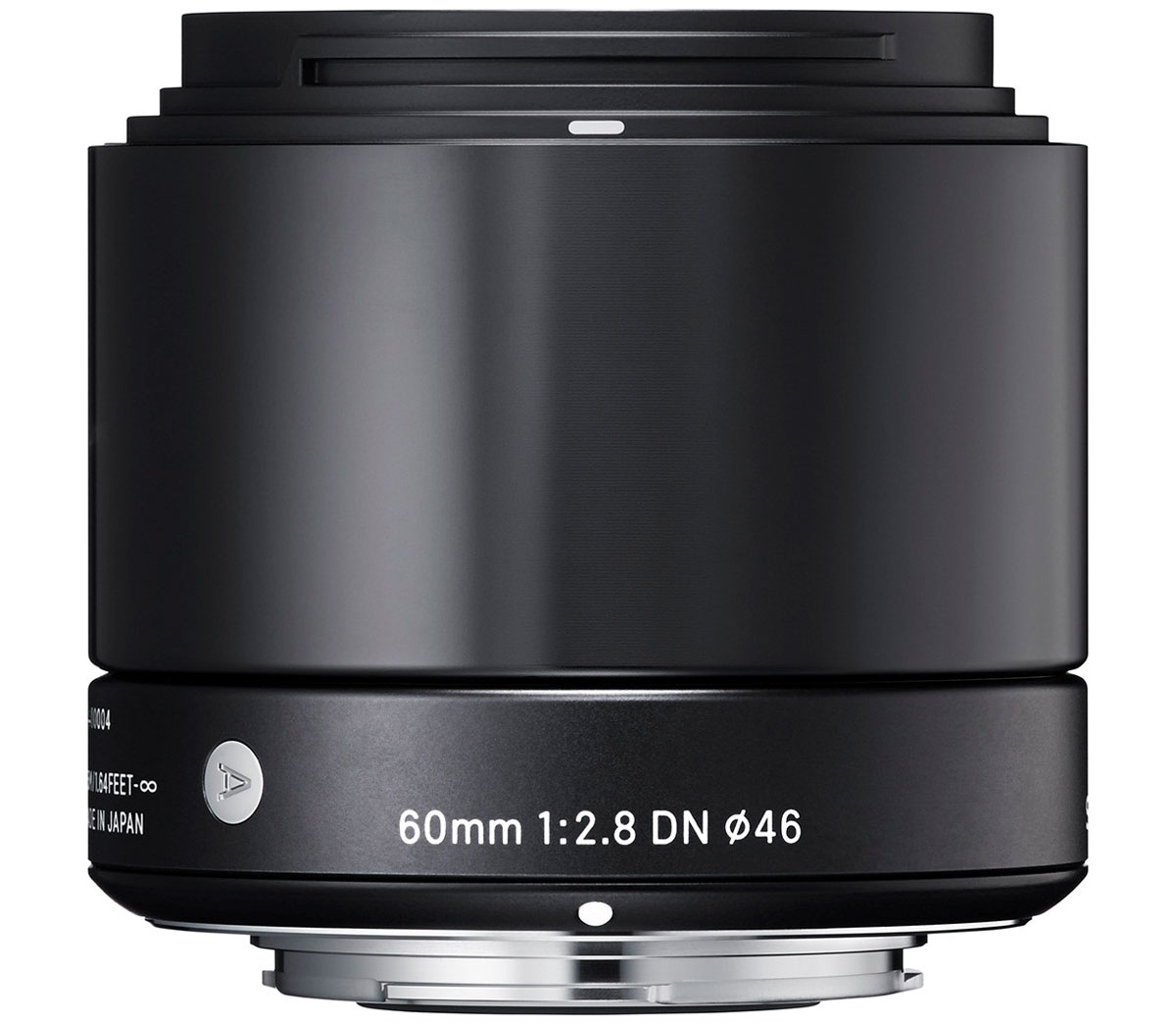 Sigma AF 60mm f/2.8 DN/A, Black объектив для Micro 4/3