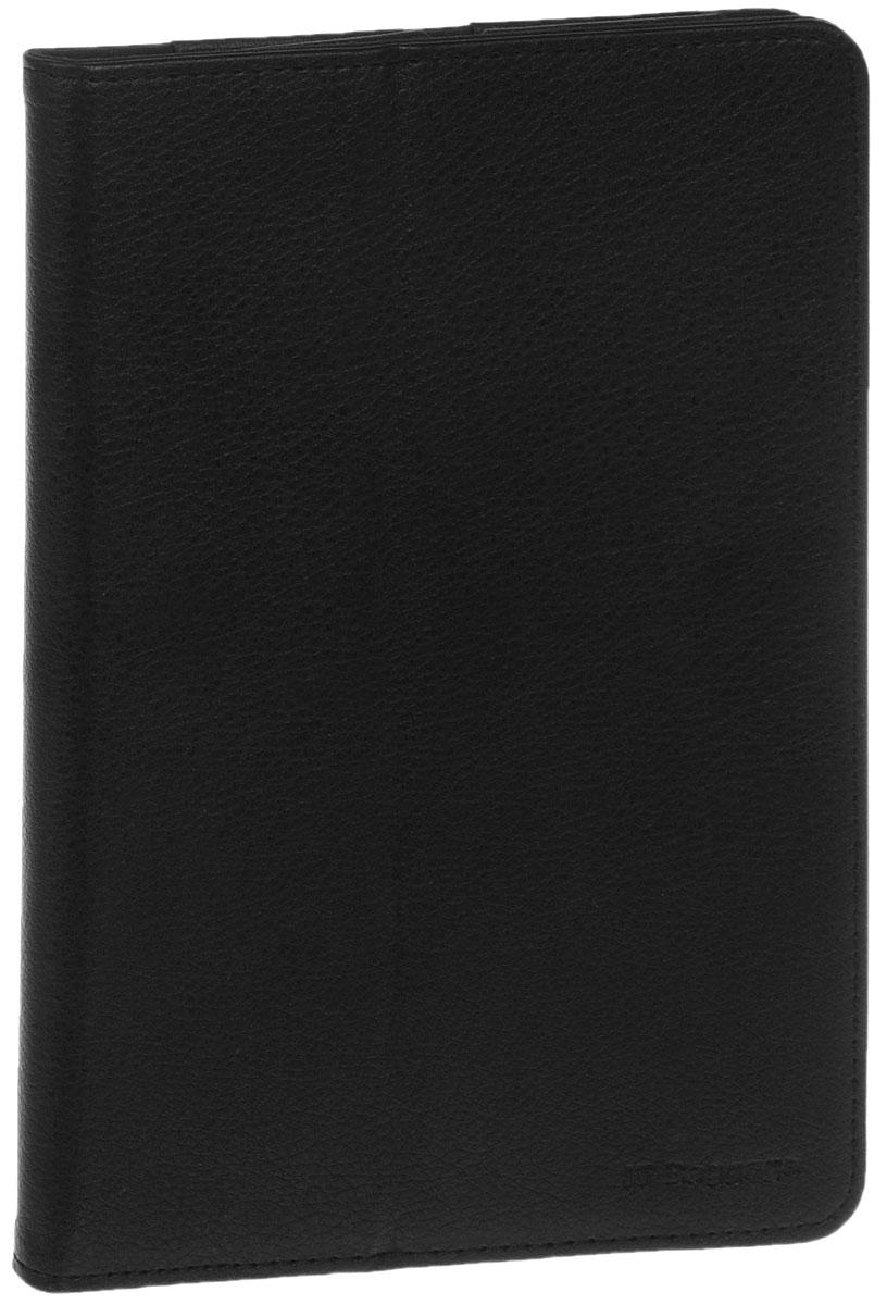 IT Baggage чехол для iPad mini 3/mini 4, BlackITIPMINI4-1Чехол IT Baggage дляiPad mini 3/mini 4 - это стильный и лаконичный аксессуар, позволяющий сохранить планшет в идеальном состоянии. Надежно удерживая технику, обложка защищает корпус и дисплей от появления царапин, налипания пыли. Также чехол можно использовать как подставку для чтения или просмотра фильмов. Имеет свободный доступ ко всем разъемам устройства.