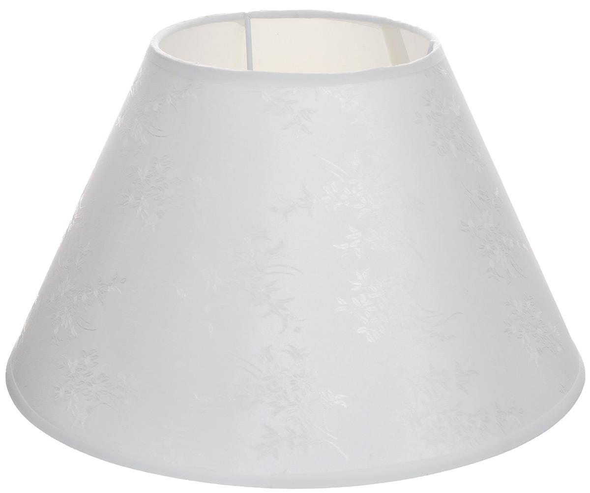 Абажур для настольной лампы Vitaluce, цвет: белый, Е27, 29 х 29 х 18 смVL6818Стильный абажур для настольной лампы Vitaluce, выполненный из металла, пластика и текстиля, украсит ваш дом и защитит от яркого света лампы.Диаметр абажура (по верхнему краю): 14 см. Диаметр абажура (по нижнему краю): 29 см. Высота абажура: 18 см.