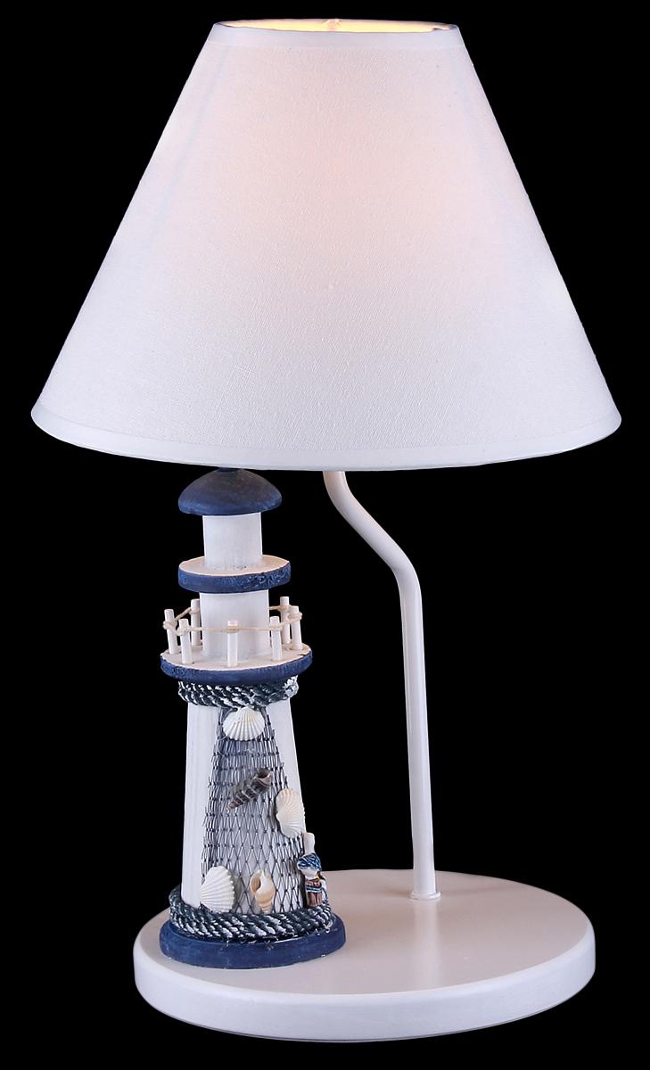 Лампа настольная Natali Kovaltseva, 1 x E27, 40W. 106/1T106/1TЛампа настольная Natali Kovaltseva станет украшением вашей комнаты и оригинально дополнит интерьер. Такой светильник отлично подойдет для освещения кабинета, спальни или гостиной. Лампа выполнена из белого окрашенного металла и дополнена фигуркой в виде маяка. В коллекциях Natali Kovaltseva представлены разные стили - от классики до хайтека. Дизайн и технологическая составляющая продукции разрабатывается в R&D центре компании, который находится в г. Дюссельдорф, Германия. При производстве продукции используются высококачественные и эксклюзивные материалы: хрусталь ASFOR, муранское стекло, перламутр, 24-каратное золото, бронза. Производство светильников соответствует стандарту системы менеджмента качества ISO 9001-2000. На всю продукцию ТМ Natali Kovaltseva распространяется гарантия.