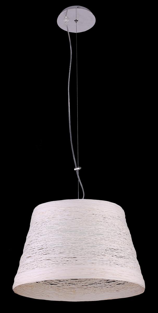 Светильник подвесной Natali Kovaltseva, 2 x E27, 60W. 10737/2P10737/2P WHITEСветильник подвесной Natali Kovaltseva, выполненный в оригинальном стиле, станет украшением вашей комнаты и изысканно дополнит интерьер. Изделие крепится к потолку при помощи специального троса. Такой светильник универсален и отлично подойдет для освещения кабинета, столовой, кухни, спальни или гостиной. Светильник выполнен из металла и снабжен текстильным абажуром, декорированным плетением. В коллекциях Natali Kovaltseva представлены разные стили - от классики до хайтека. Дизайн и технологическая составляющая продукции разрабатывается в R&D центре компании, который находится в г. Дюссельдорф, Германия. При производстве продукции используются высококачественные и эксклюзивные материалы: хрусталь ASFOR, муранское стекло, перламутр, 24-каратное золото, бронза. Производство светильников соответствует стандарту системы менеджмента качества ISO 9001-2000. На всю продукцию ТМ Natali Kovaltseva распространяется гарантия.