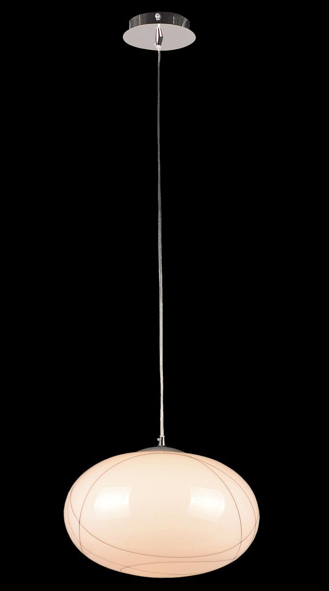 Светильник подвесной Natali Kovaltseva, 1 x E27, 60W. 10747/1P10747/1P CHROMEСветильник подвесной Natali Kovaltseva, выполненный в стиле модерн, станет украшением вашей комнаты и оригинально дополнит интерьер. Изделие крепится к потолку. Такой подвес универсален и отлично подойдет для освещения кабинета, столовой, кухни, спальни. Светильник снабжен основанием из металла с хромированным покрытием и круглым плафоном на тросе. Плафон изготовлен из матового стекла и украшен полосами. В коллекциях Natali Kovaltseva представлены разные стили - от классики до хайтека. Дизайн и технологическая составляющая продукции разрабатывается в R&D центре компании, который находится в г. Дюссельдорф, Германия. При производстве продукции используются высококачественные и эксклюзивные материалы: хрусталь ASFOR, муранское стекло, перламутр, 24-каратное золото, бронза. Производство светильников соответствует стандарту системы менеджмента качества ISO 9001-2000. На всю продукцию ТМ Natali Kovaltseva распространяется гарантия.