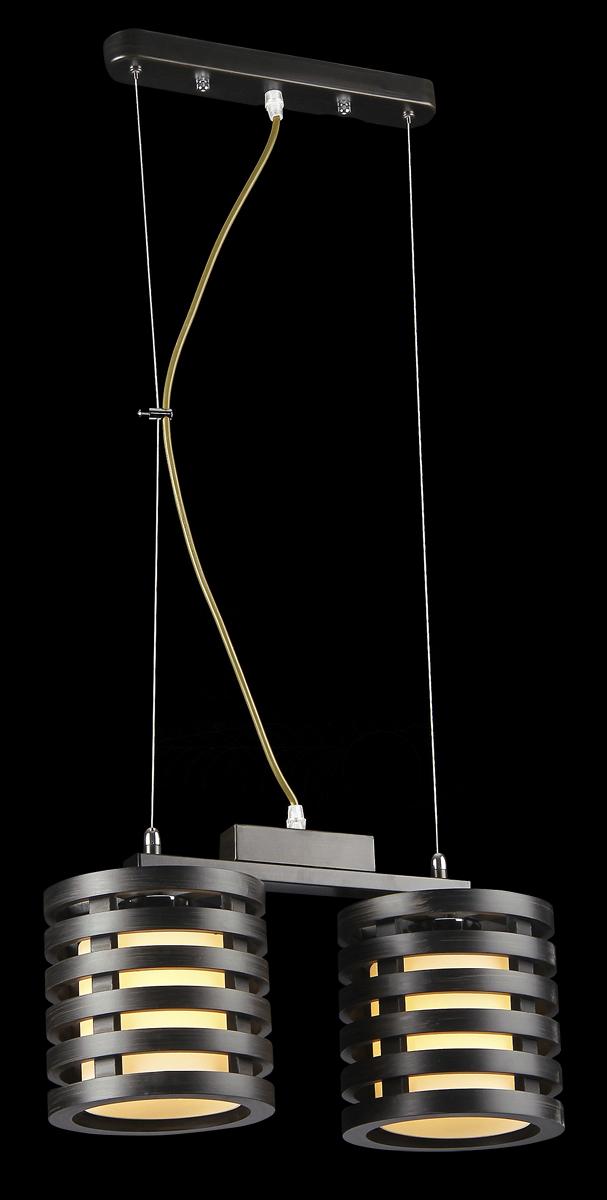 Светильник подвесной Natali Kovaltseva, 2 x E27, 60W. 10772/2P10772/2P PALISANDERСветильник подвесной Natali Kovaltseva станет украшением вашей комнаты и оригинально дополнит интерьер. Изделие крепится к потолку. Такой подвес универсален и отлично подойдет для освещения кабинета, столовой, кухни, спальни. Изделие выполнено из металла с матовым покрытием и снабжено двумя плафонами на тросах. В коллекциях Natali Kovaltseva представлены разные стили - от классики до хайтека. Дизайн и технологическая составляющая продукции разрабатывается в R&D центре компании, который находится в г. Дюссельдорф, Германия. При производстве продукции используются высококачественные и эксклюзивные материалы: хрусталь ASFOR, муранское стекло, перламутр, 24-каратное золото, бронза. Производство светильников соответствует стандарту системы менеджмента качества ISO 9001-2000. На всю продукцию ТМ Natali Kovaltseva распространяется гарантия.