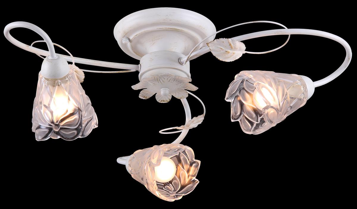 Люстра Natali Kovaltseva 10858/3C GOLD IVORY лампа энергосберегающая экономка 208237