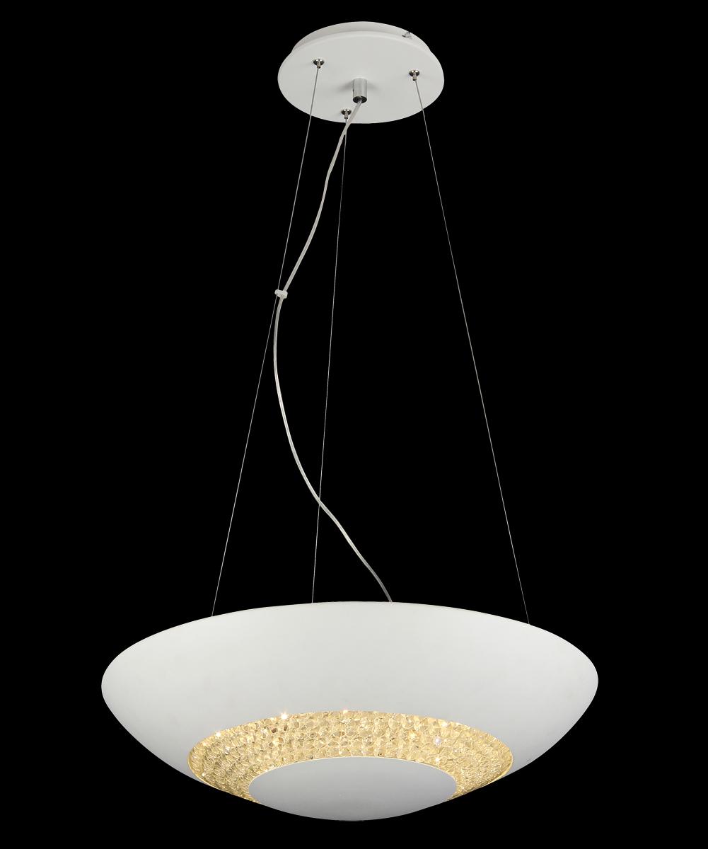 Люстра Natali Kovaltseva 11154/8P WHITE, LED11154/8P WHITE, LEDD48 x H120 cm