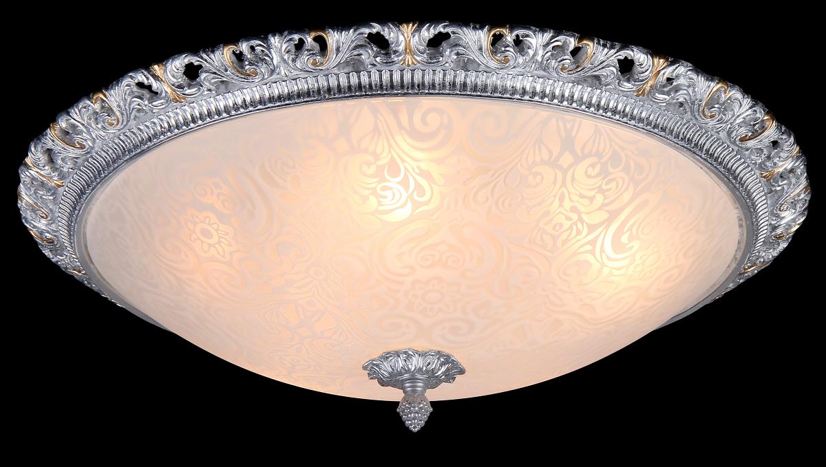 Светильник Natali Kovaltseva Gisele 10435/5С WHITE SILVER GOLDGisele 10435/5С WHITE SILVER GOLDD49 x H16 cm