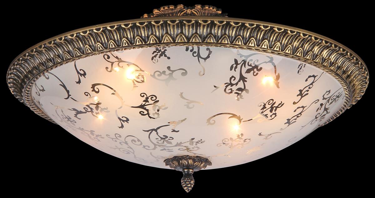 Светильник Natali Kovaltseva Jessica, 4 x E14, 60W. 10426/4P BRASSJessica 10426/4P BRASSСветильник Natali Kovaltseva, выполненный в оригинальном дизайне, станет украшением вашей комнаты и изысканно дополнит интерьер. Изделие крепится к потолку или стене. Такой светильник отлично подойдет для освещения кабинета, столовой, спальни или гостиной. Он изготовлен из металла с медным покрытием и декорирован изысканным рельефом. Изделие снабжено круглым плафоном из матового стекла с прозрачными узорами. Плафон скрывает 4 цоколя. В коллекциях Natali Kovaltseva представлены разные стили - от классики до хайтека. Дизайн и технологическая составляющая продукции разрабатывается в R&D центре компании, который находится в г. Дюссельдорф, Германия. При производстве продукции используются высококачественные и эксклюзивные материалы: хрусталь ASFOR, муранское стекло, перламутр, 24-каратное золото, бронза. Производство светильников соответствует стандарту системы менеджмента качества ISO 9001-2000. На всю продукцию ТМ Natali Kovaltseva распространяется гарантия.