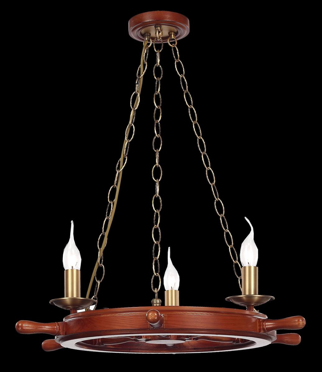 Люстра Natali Kovaltseva Luxury wood 10439/3C BRASS, REDLuxury wood 10439/3C BRASS, REDD61 x H67 cm
