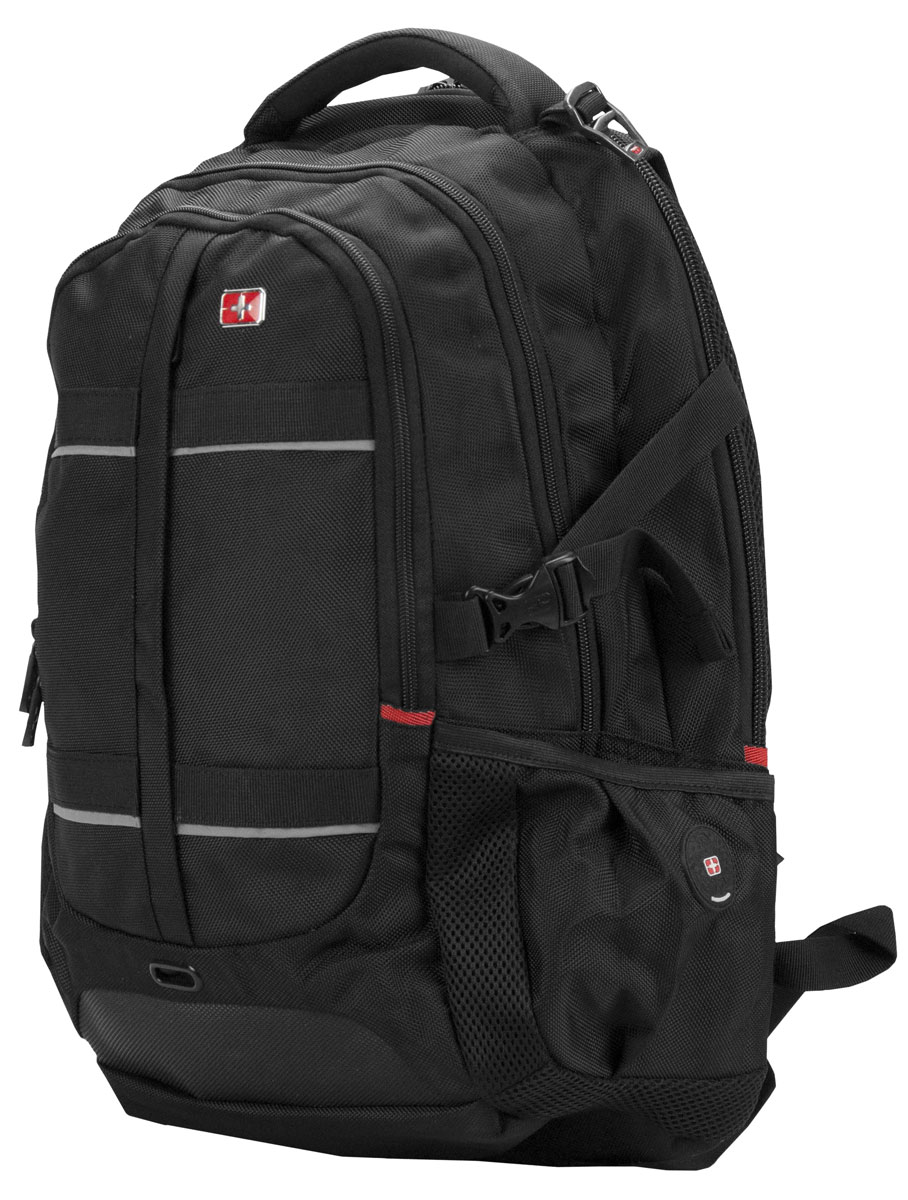 Continent BP-302, Black рюкзак для ноутбука 16
