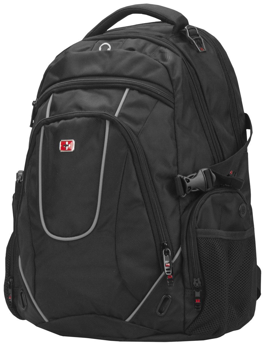 Continent BP-304, Black рюкзак для ноутбука 16Continent BP-304 BKContinent BP-304 - комфортный и надежный рюкзак для вашего ноутбука с диагональю экрана до 16 дюймов. Рюкзак изготовлен из прочного нейлона, рассчитанного на частое и интенсивное использование. Все застежки отличаются высоким качеством материалов и исполнения, а также продуманы с точки зрения эргономики. Спинка оснащена дышащим слоем, что позволяет использовать его в любую погоду.