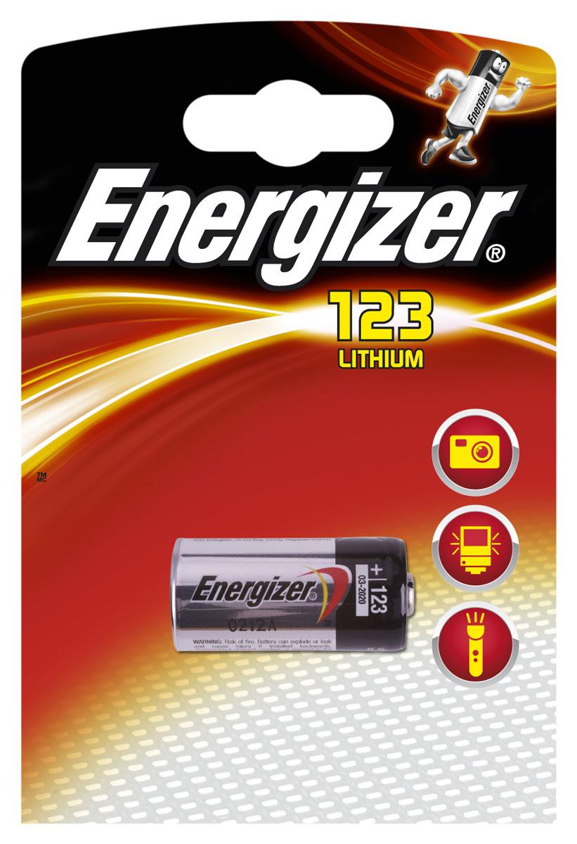 Батарейка Energizer Lithium Speciality Photo, тип 123, 3V628290Батарейка Energizer Lithium специально предназначена для фотоаппаратов. Обеспечит оптимальные условия и длительную работу ваших пленочных и цифровых фотокамер. Эта батарейка очень надежна. Вы можете целиком положиться на нее и делать один снимок за другим. Батарейка имеет длительный срок службы и достаточную мощность для современных высокотехнологичных фонарей, вспышек и приборов ночного видения.