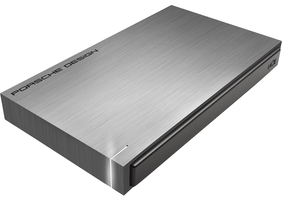 LaCie Porsche Design Mobile Drive 1TB, Dark Grey внешний жесткий диск (P9220)