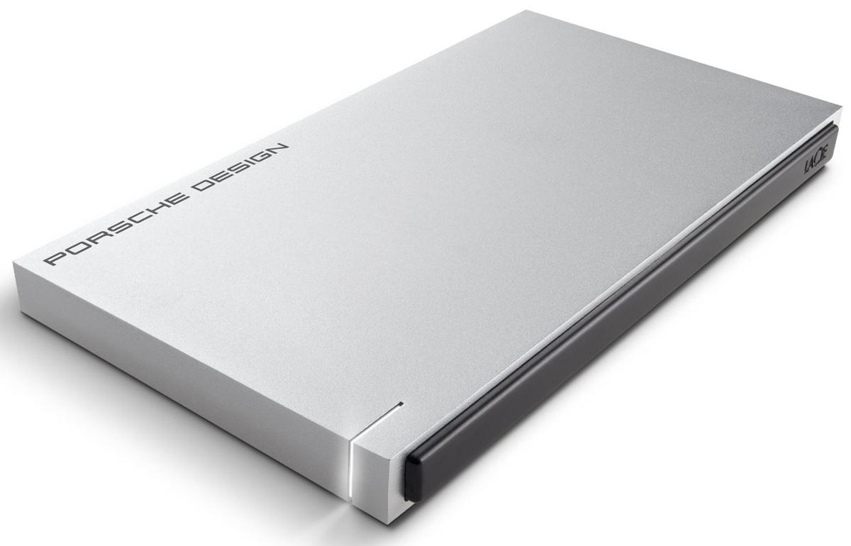 LaCie Porsche Design Slim 500GB, Light Grey внешний жесткий диск - Носители информации