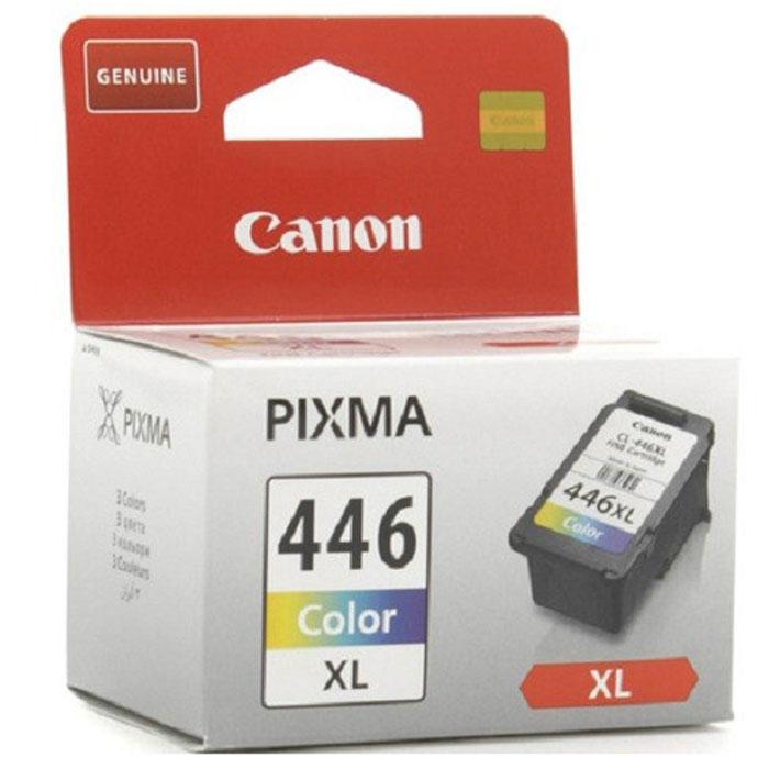 Canon CL-446 CL XL картридж для струйных принтеров8284B001,1000251973Оригинальный цветной картридж Canon CL-446 CL XL