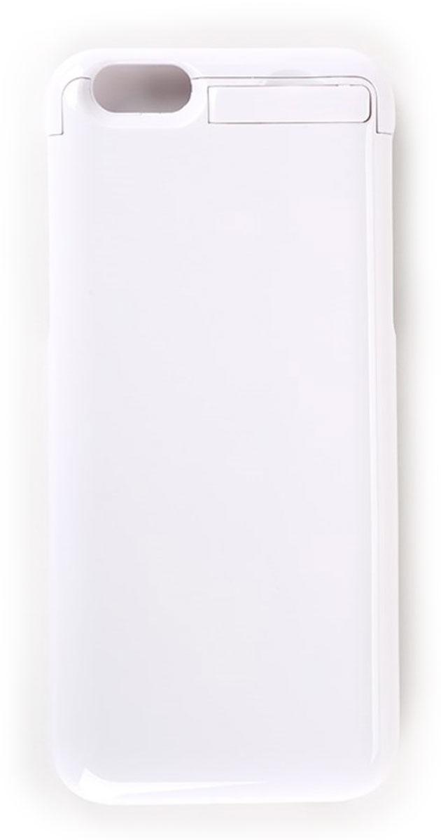 EXEQ HelpinG-iC09, White чехол-аккумулятор для iPhone 6 (3300 мАч, клип-кейс)HelpinG-iC09 WHПодбираете надежный и стильный чехол для своего любимого смартфона? Предлагаем рассмотреть уникальное предложение и купить чехол-аккумулятор Exeq HelpinG-iC09. Лаконичный дизайн, практичная цветовая гамма, надежная защита и дополнительный аккумулятор с емкостью в 3300 мАч. Такой уникальный чехол не только обеспечит высокую степень защиты вашему iPhone 6, но и гарантирует его бесперебойную работу в течение длительного времени.Удобная конструкция чехла-аккумулятора Exeq HelpinG-iC09 создана таким образом, чтобы практически полностью повторять контуры телефона и совсем незначительно увеличивать его габариты и вес. Идеальное совмещение всех разъемов на телефоне и чехле позволит не вынимать телефон из чехла длительное время. Зарядка Exeq HelpinG-iC09 происходит от зарядного устройства телефона - достаточно просто подсоединить устройство к чехлу. Для зарядки телефона, его также не нужно извлекать из чехла - просто подключите зарядное к чехлу и нажмите кнопку питания на чехле. Еще чехол оборудован удобной выдвижной подставкой, которая позволит комфортно расположить телефон во время просмотра видео или общения по skype.Exeq HelpinG-iC09 станет отличным аксессуаром для вашего смартфона в долгом летнем путешествии, зимнем походе и в обычной повседневной жизни, когда за суетой повседневных дел у вас не всегда есть возможность зарядить ваш смартфон по полной!