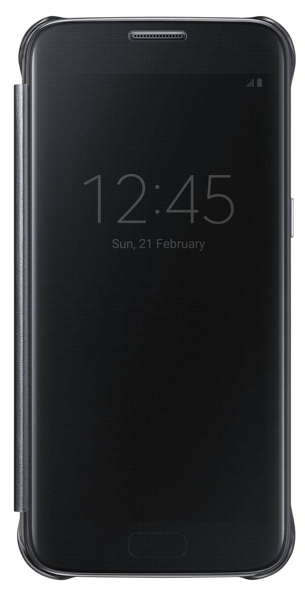 Samsung EF-ZG930 Clear View Cover чехол для Galaxy S7, BlackEF-ZG930CBEGRUТонкий полупрозрачный чехол Samsung EF-ZG930 Clear View Cover подчеркивает стиль и изящество Galaxy S7. Плавные линии чехла настолько гармонично дополняют дизайн телефона, что практически полностью сохраняют первоначальный вид устройства, эффективно защищая его от повреждений.Получите доступ ко всем основным функциям телефона, включая приём входящих вызовов и управление воспроизведением музыки, без необходимости открывать крышку чехла. Благодаря специальному покрытию, устойчивому к появлению отпечатков пальцев, вы можете наслаждаться чистым внешним видом устройства как будто вы только что достали его из коробки.