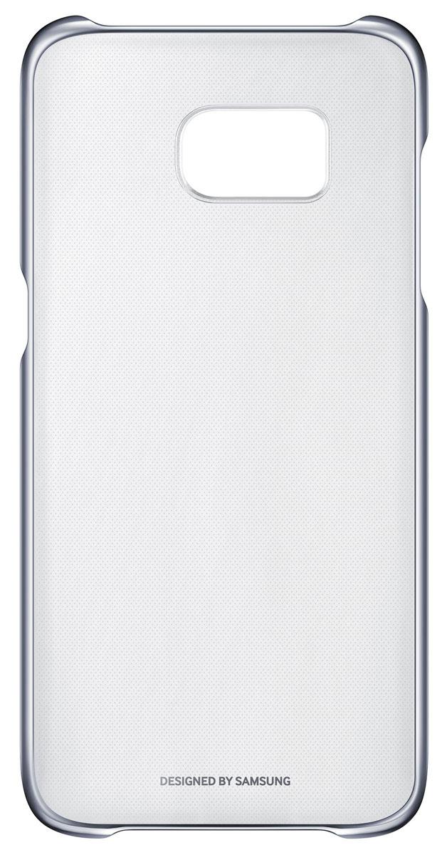 Samsung EF-QG935 Clear Cover чехол для Galaxy S7 Edge, Black