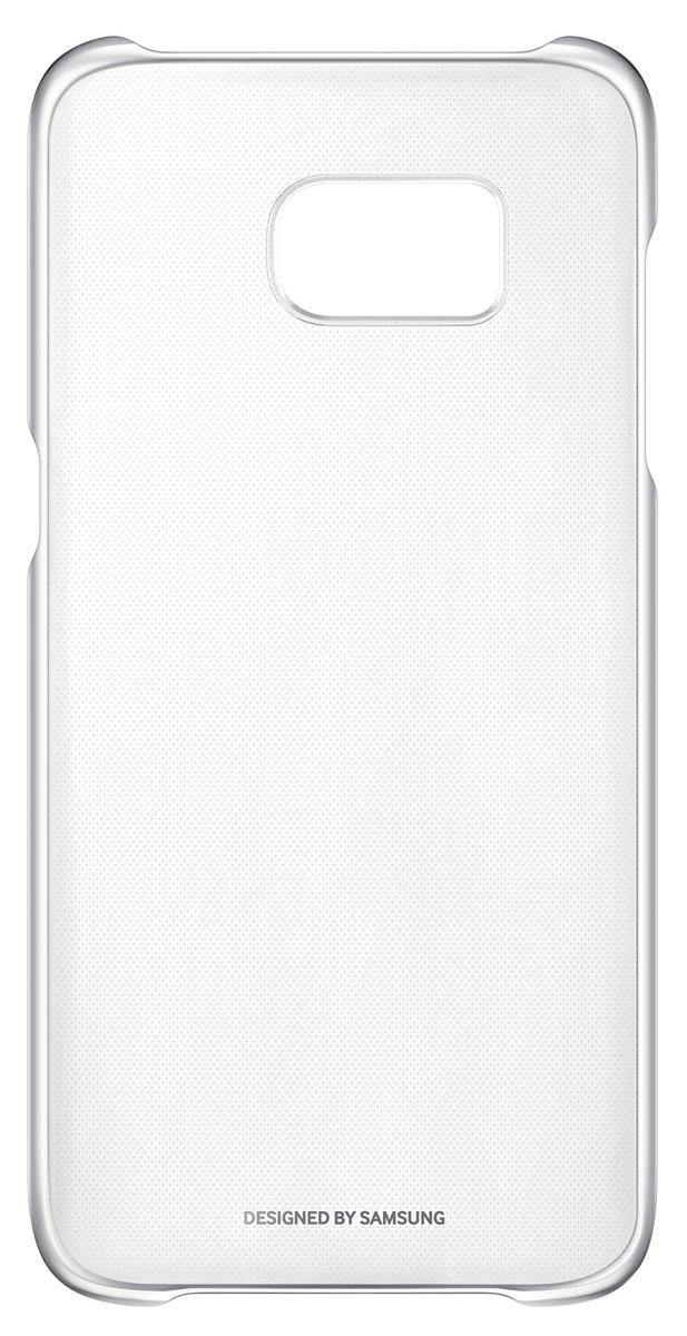 Samsung EF-QG935 Clear Cover чехол для Galaxy S7 Edge, SilverEF-QG935CSEGRUSamsung EF-QG935 Clear Cover - прозрачная накладка на заднюю крышку смартфона Samsung Galaxy S7 Edge. Тонкий чехол практически не увеличивает размеров смартфона, сохраняя его оригинальный внешний вид и защищая от пыли, грязи и повреждений.Уважаемые клиенты! Обращаем ваше внимание, что данный чехол имеет специальное защитное покрытие под транспортировочной плёнкой в виде тонкой дополнительной плёнки, являющееся неотъемлемой частью крышки и которое нанесено с помощью специального клея. Отделение данного слоя не предусмотрено производителем, и может привести к повреждению аксессуара.